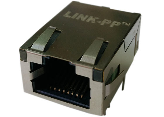 China J0G-0001NL , Low-Profile 1x1 Tab-up RJ45 10/100/1000Base-T Interface Port factory