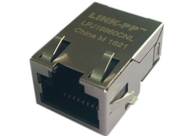 China RJPS-001TC1 SMD POE Rj45, Low Profile,1x 10/100 Base-TX Filtered LPJ19960CNL distributor