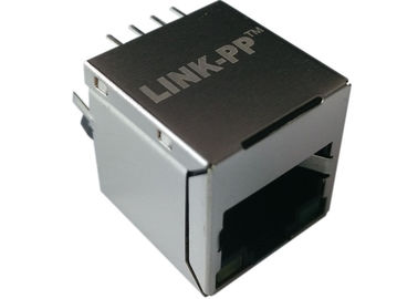 China LPJD0115BGNL Magnetic RJ45 Jack 1 x 10/100 Mbit Ethernet POE functionality distributor