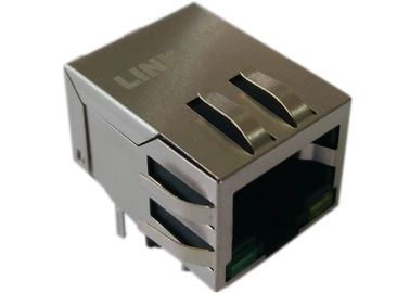 China LPJG0801GBNL Rj45 Connector Jack , Gigabit Ethernet Magnetics 1GbE Port distributor