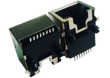 China LPJE8802DNL Low Profile rj45 Cross 95540-6886 Surface Mount Plugs Shielded distributor