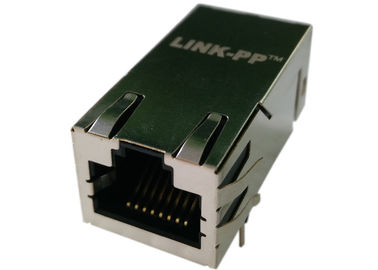 China Replacement 7499511002A POE Magnetic RJ45 Connector , LPJK6069CNL factory