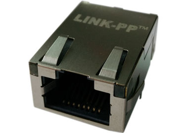 China LPJK7002A98NL Low-Profile RJ45 Magjack 11.30mm Height , Built In 10/100Mbps factory