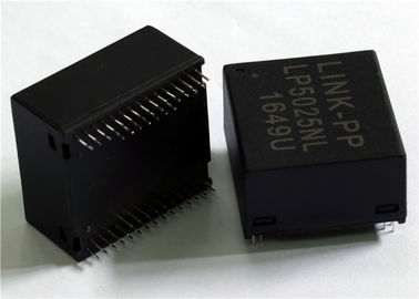China 4x Gigabit Integrated Magnetic Transformers Four Port 10/100/1000Base-T LP5025NL distributor
