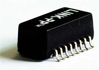 China Alternative TS8121CM-HF 10/100 BASE-T ETHERNET POE Magnetic Single Port SMD distributor