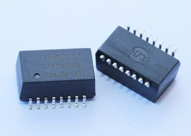 China XF-LCZ3A1CB Single Port 10/100 BASE-T SMD Lan Transformer 1CT:1CT XF-LP1102NLE factory