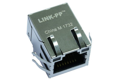 China LPJ16183A107NL ▶ Ti TIDEP0002 Connector RJ-45 Jack W/Magnetic 10/100Mb AMDIX distributor