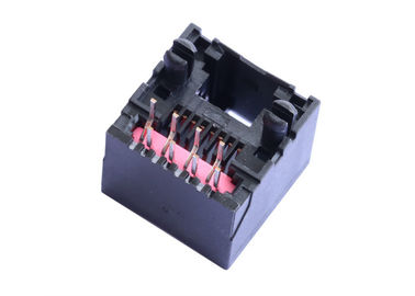 China 95503-2884 Vertical Entry RJ45 Jack Without Magnetic Unshielded LPJE689-3NNL factory