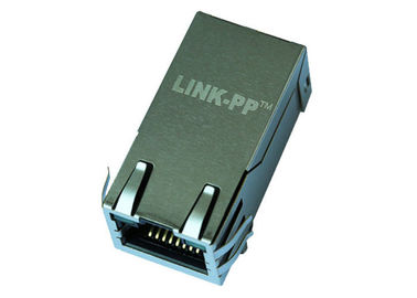 China 1x1 Port RJ45 Modular Jack 10G Mbps LPJK9436AHNL 10G Mbps Base Without POE distributor