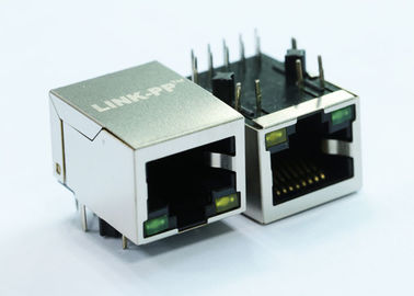1x1 Port 10/100Base-T POE+ RJ45 Connector LPJP4320HENL
