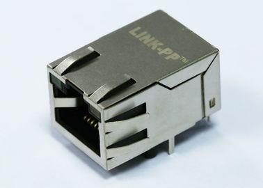 China ARJM11C7-809-AD-ER2-T 1x1 Port 8P8C RJ45 Female Connector With 2.5G Base-T factory