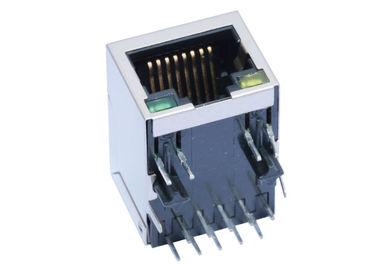 China ARJM11B3-805-AN-ER2-T Entry R45 2.5Gigabit Magnetic Shielded THT R/A factory