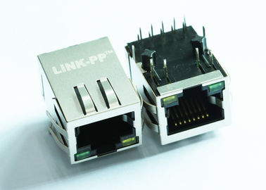 China LPJ4026AANL RJ45 Modular Jack Cross XRJG-01K-1-E13-211 Lan 10/100M SGS Approved distributor