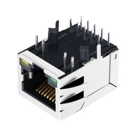 China 2.5G Magnetic RJ45 Modular Jack LPJG0934-8GENL JKM-2500NL Single Port distributor