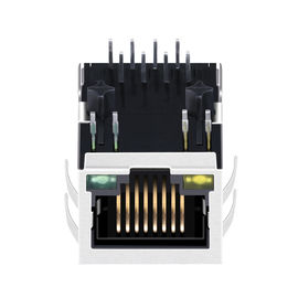 China Through Hole RJ45 Modular Jack 10/100 Base-T LPJ4070GDNL With Board Lock factory