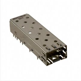 China CONN SFP Cage 1X1 PRESS FIT LP11F012 Optical Transceivers Receptacle With Cage U77-A1114-100T distributor