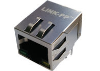 LPJG0820GENL 1000Base-T Magnetic 10Pins RJ45 Jack Shield W/LED Gigabit