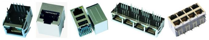 Transformer Gigabit  RJ45 With Integrated Magnetics 7499111121 , MIC38011-5265T-LF