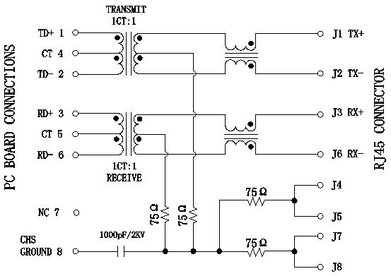 hr911105a hanrun rj45 lan connector  8p8c 10  100bt female