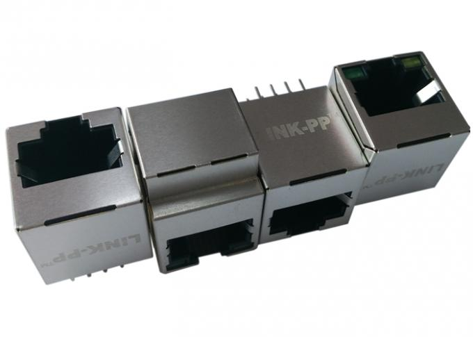 Vertical Mounting / Top Entry POE RJ45 Connector