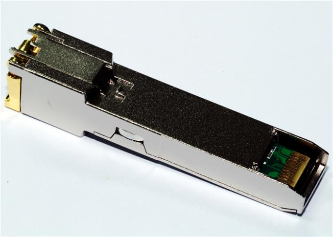 Rj45 Copper SFP 10/100/1000 BASE-T SGMII -40°C to +85°C Industrial Temp 1.25 Gigabit Ethernet