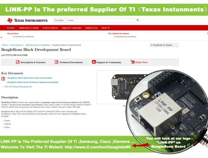 LPJ0011BBNL ▷ Ti BeagleBone Black Development Board 10/100